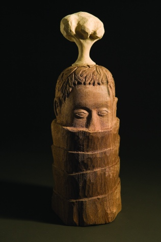 Head with Tree laminated woods